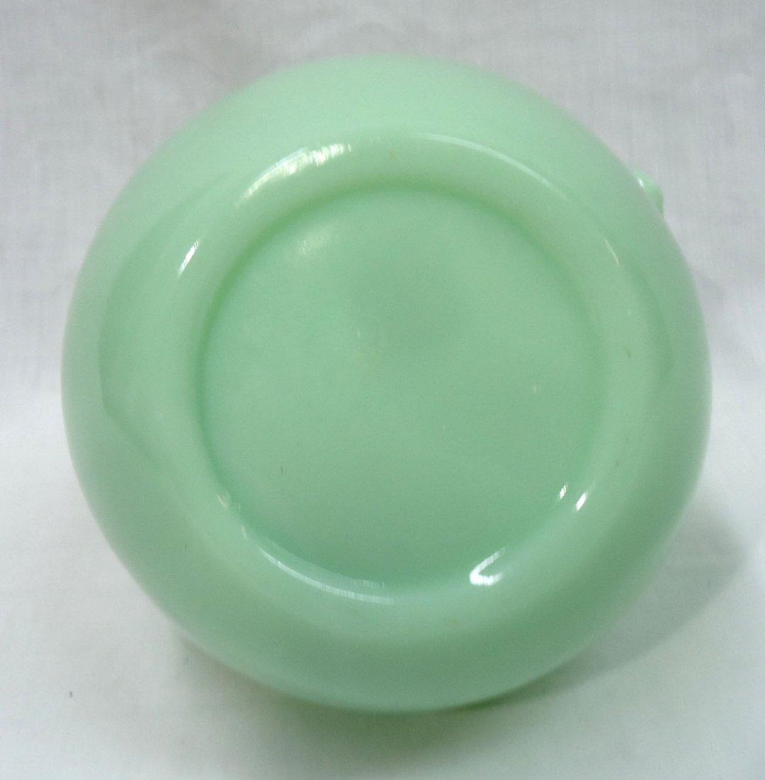Modern Jadeite Adv. Pitcher - 4