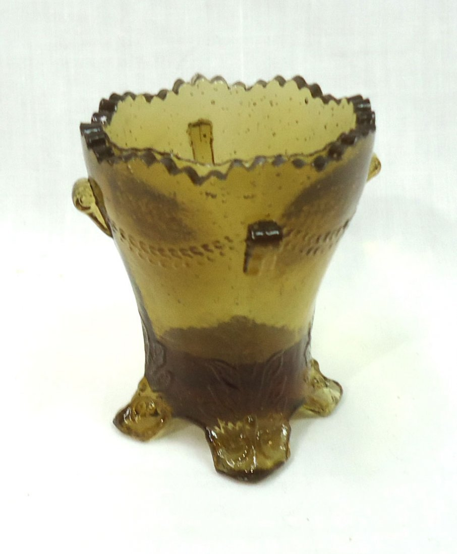 4- Boyd Glass Toothpick Holders - 3