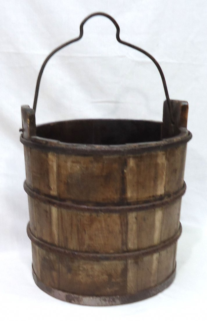 Modern Wooden Bucket