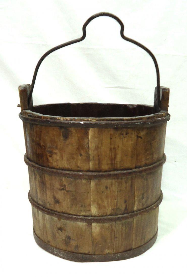 Modern Wooden Bucket - 3