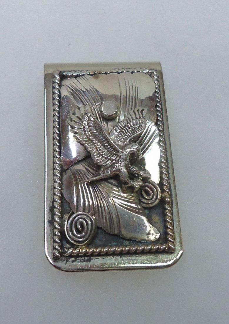 Sterling Eagle Money Clip