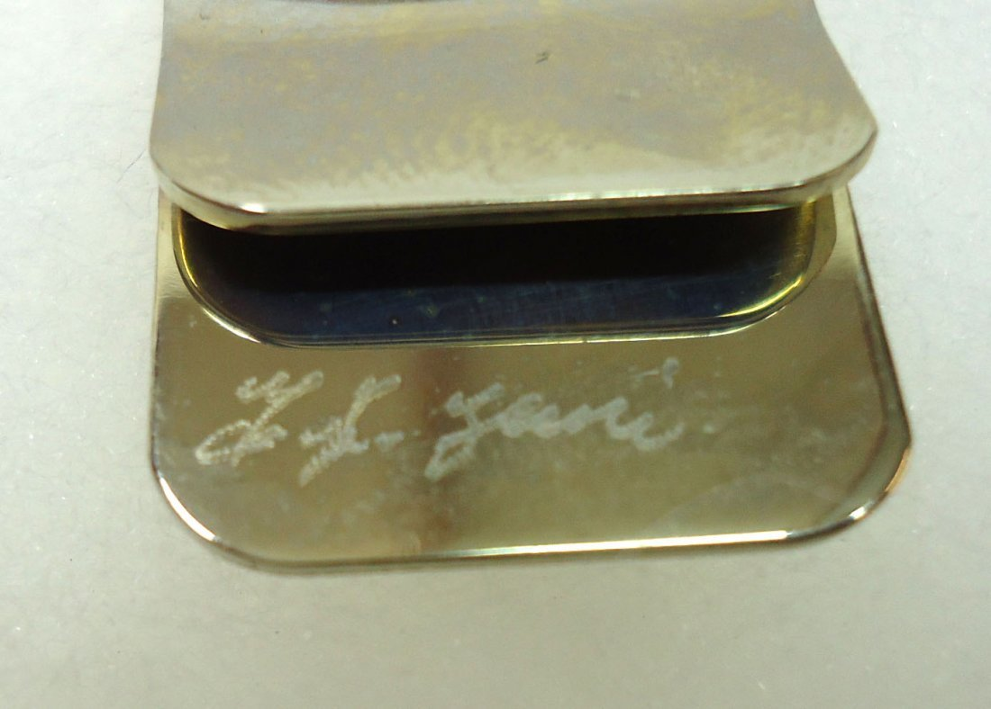 Sterling & Turq. Money Clip - 3