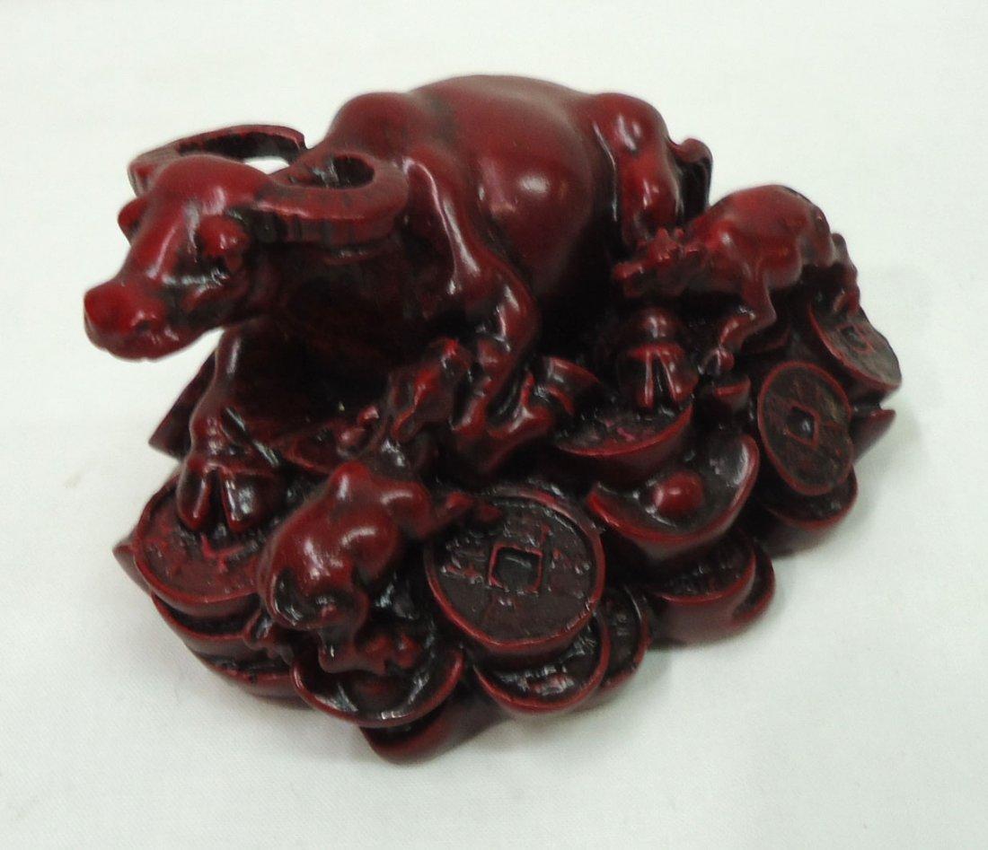Oriental Buffalo Figure