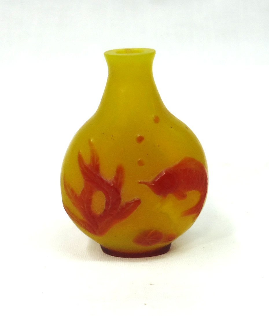 Oriental Peking Glass Snuff Bottle