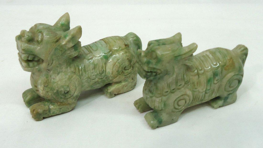 2- Jade Foo Dogs