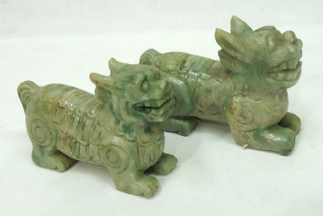 2- Jade Foo Dogs - 2