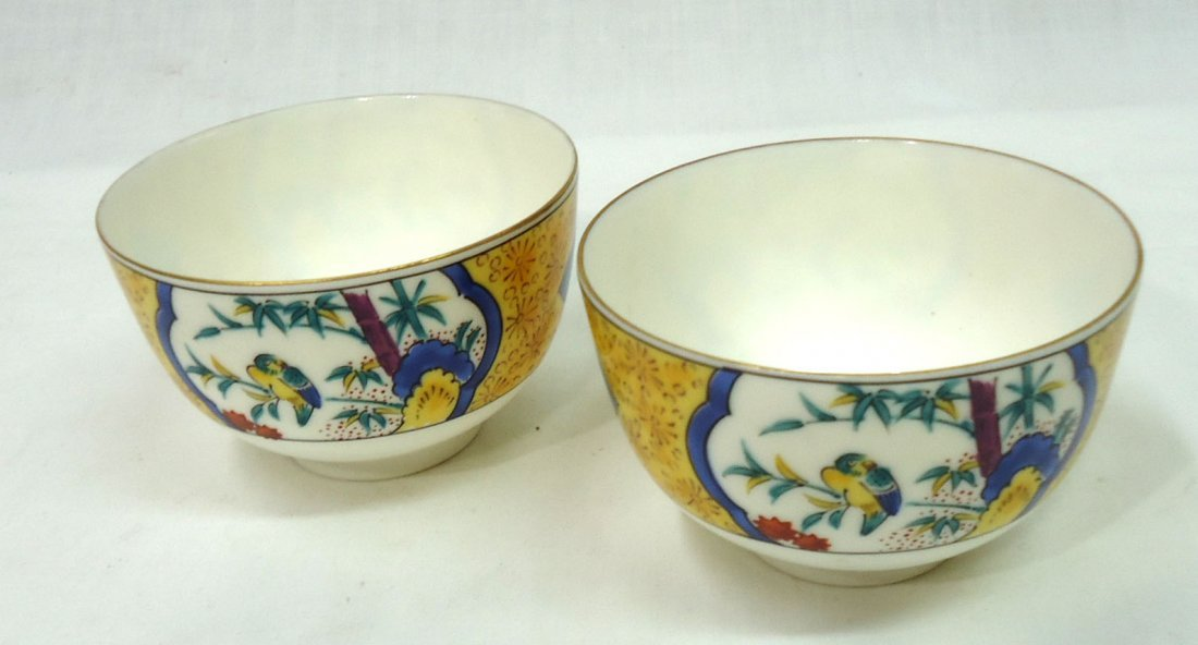 2- Oriental H.P. Bowls