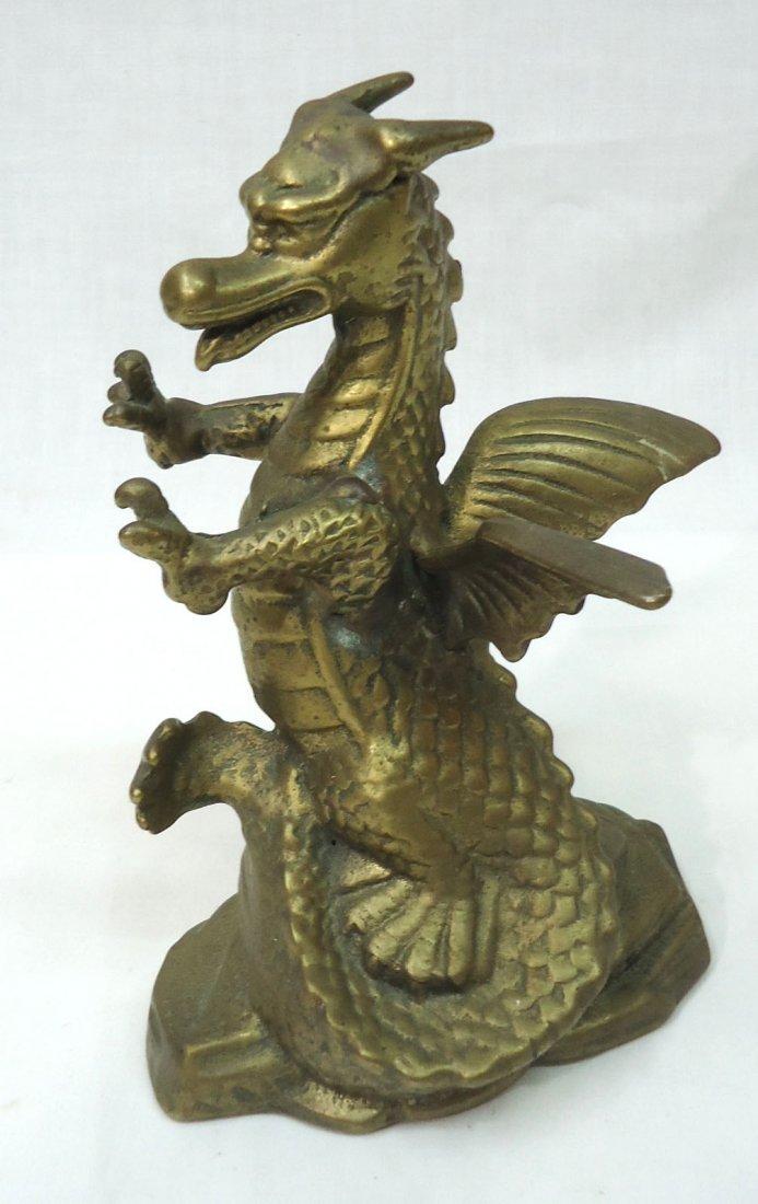 Oriental Brass Dragon