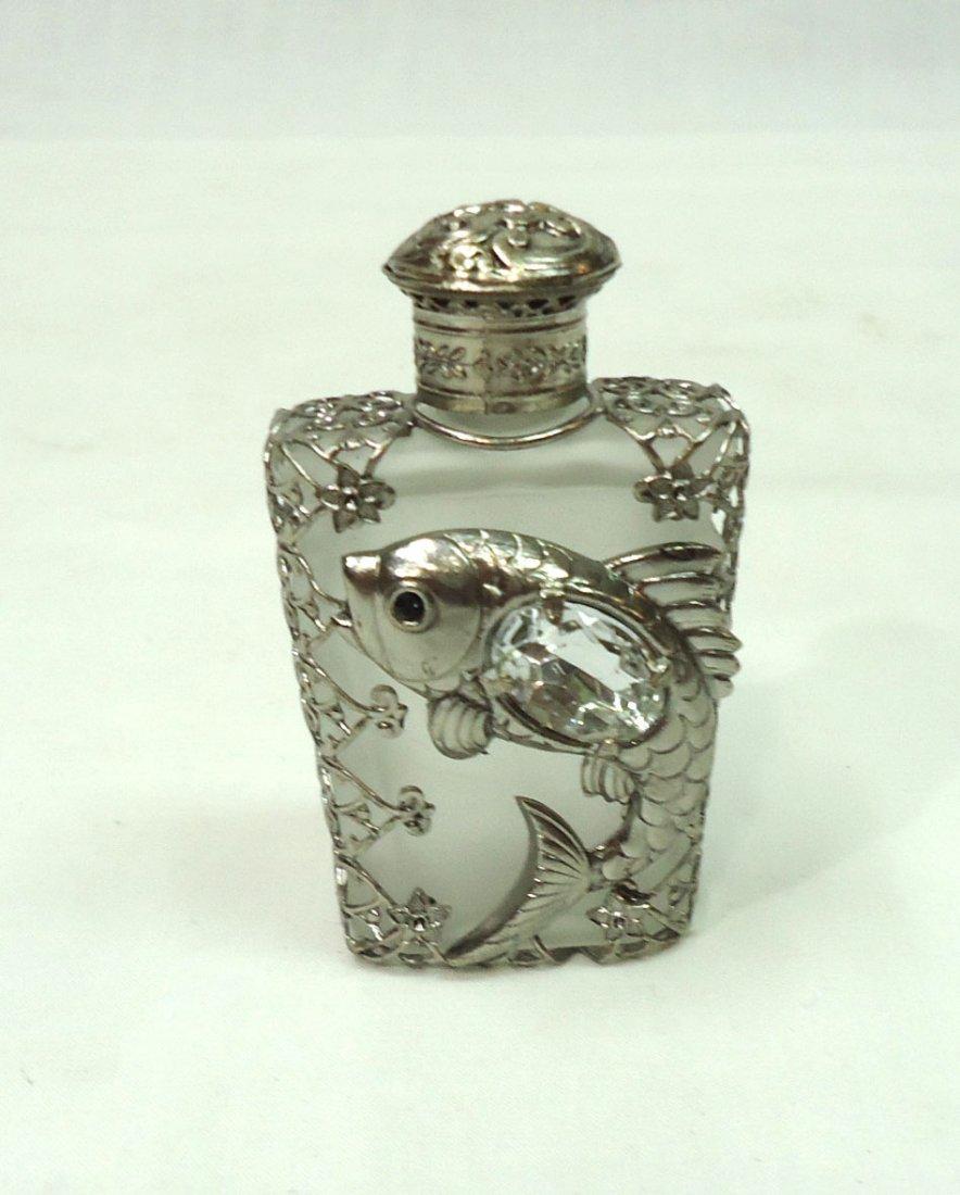 Ornate Fish Perfume Bottle