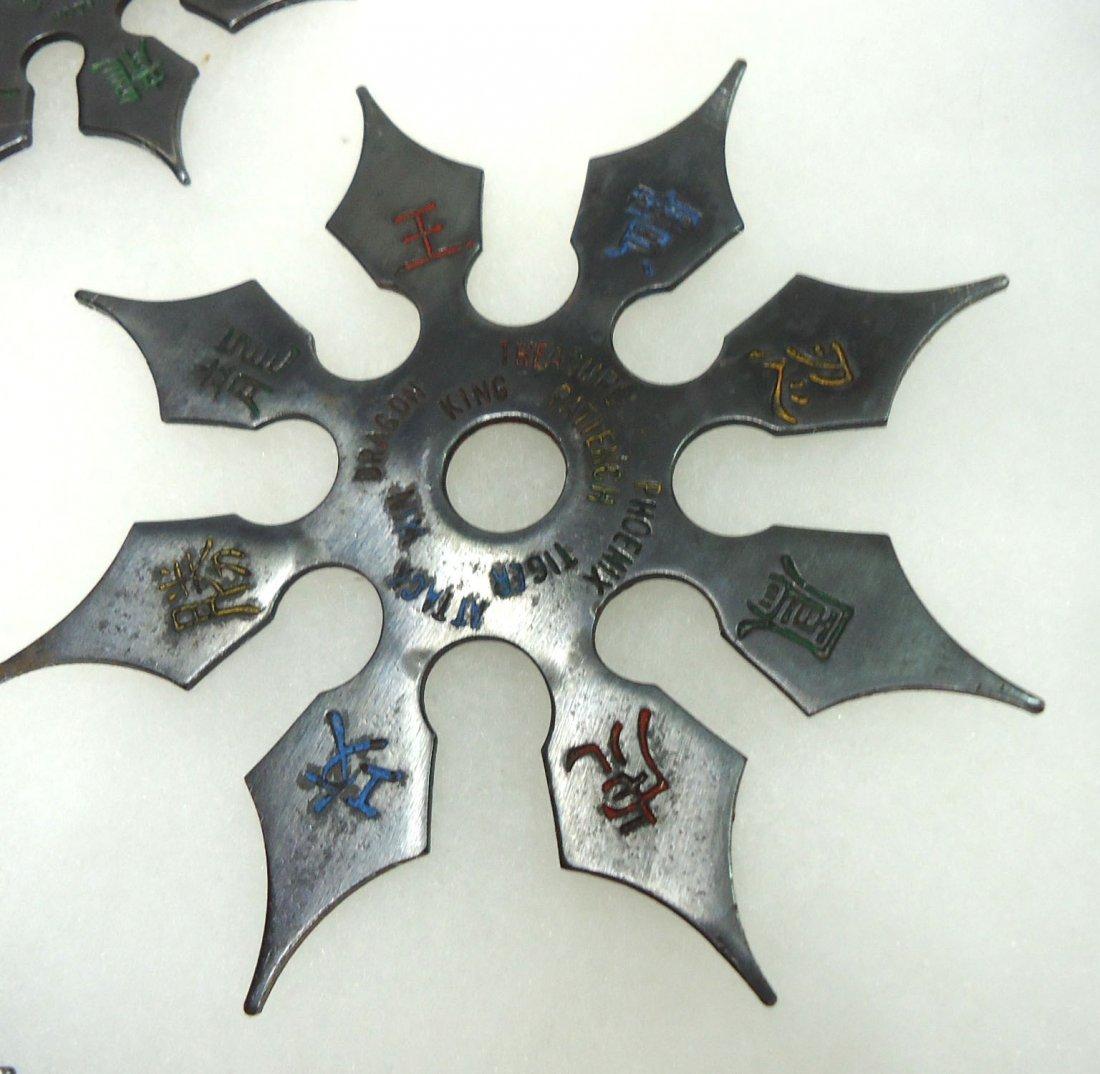 4- Ninja Stars W/ Case - 2