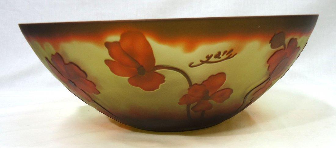Lg. modern Galle Bowl - 3