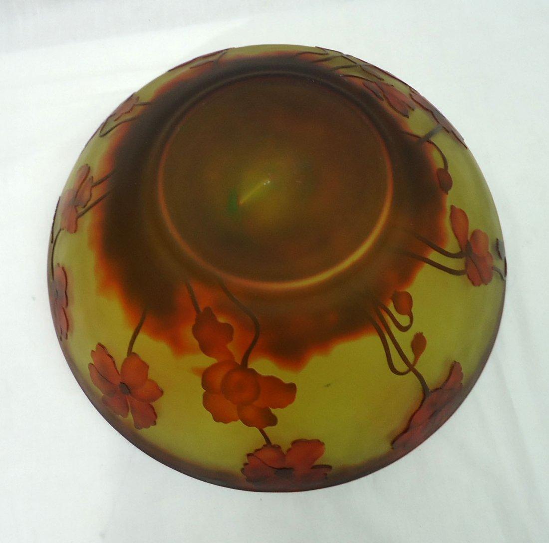 Lg. modern Galle Bowl - 4