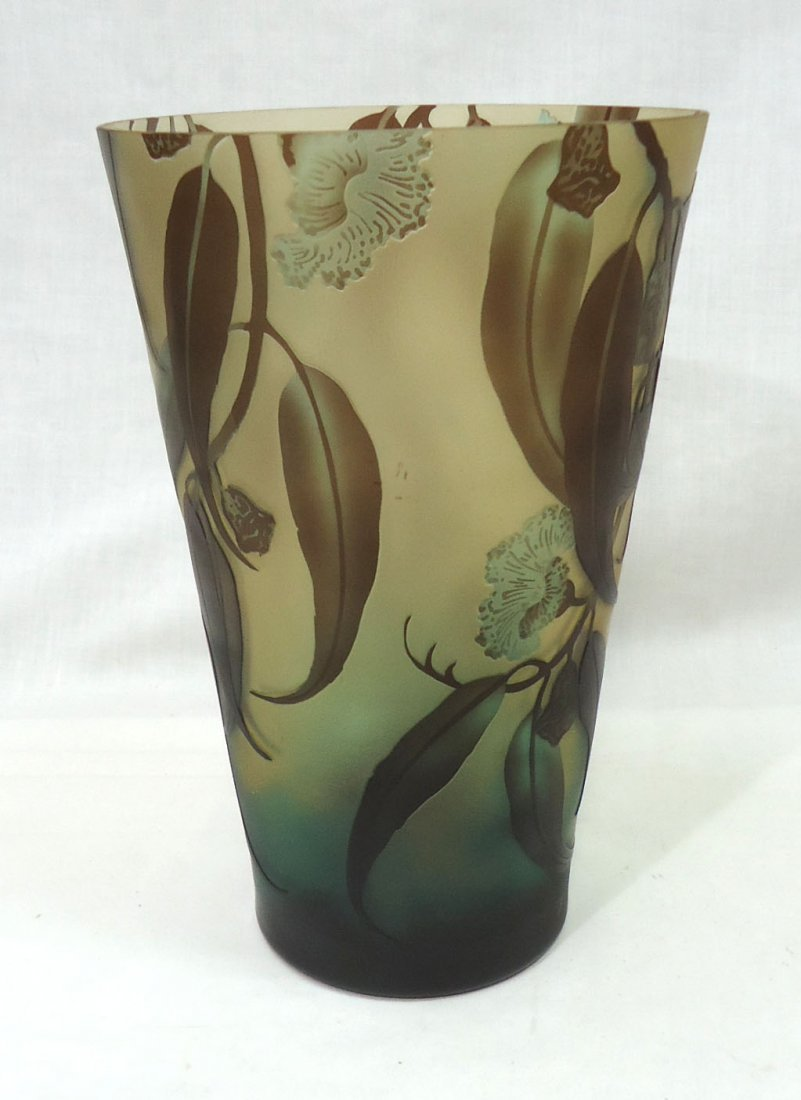 Lg. Modern Galle Vase - 2