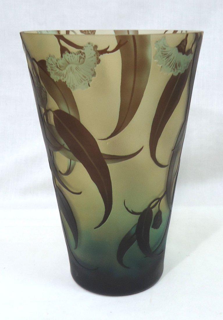 Lg. Modern Galle Vase - 3