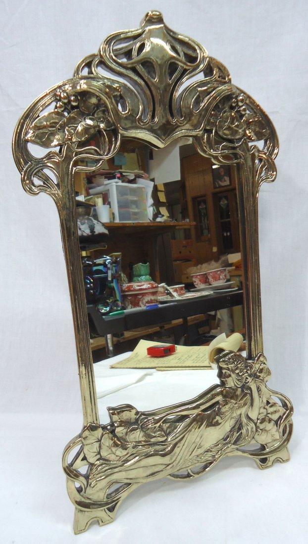Art Nouveau Style Mirror