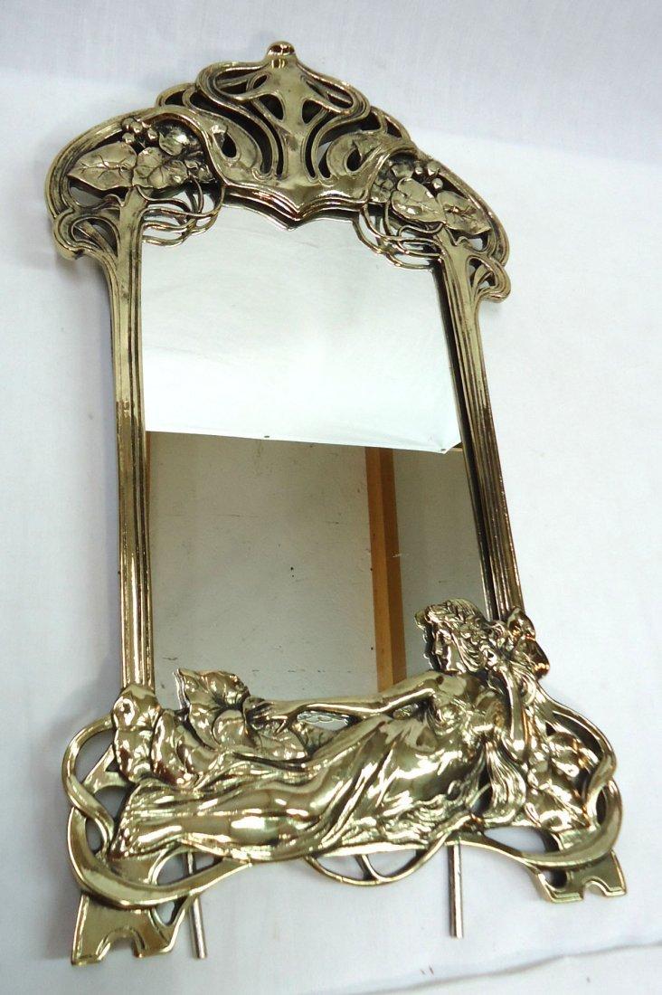Art Nouveau Style Mirror - 2