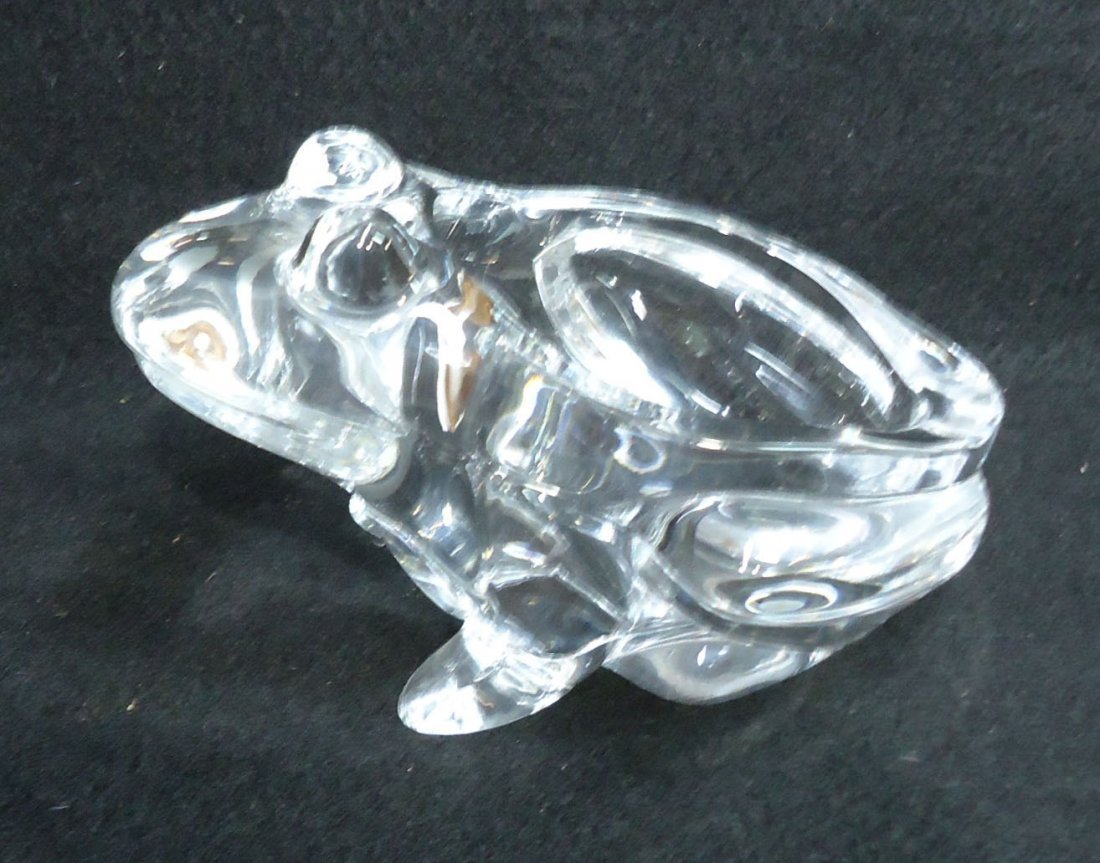 Glass Frog Dish - 2