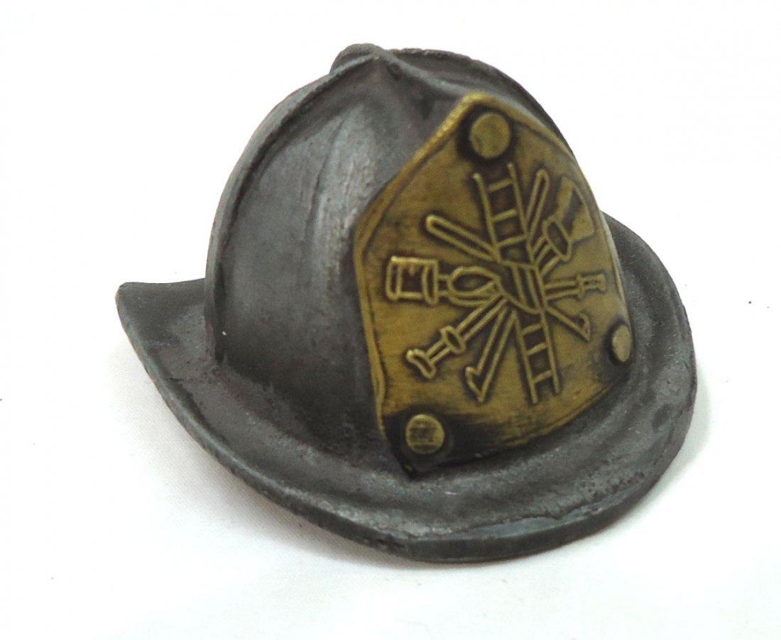 Modern C.I. Fireman's Helmet Bottle Opener
