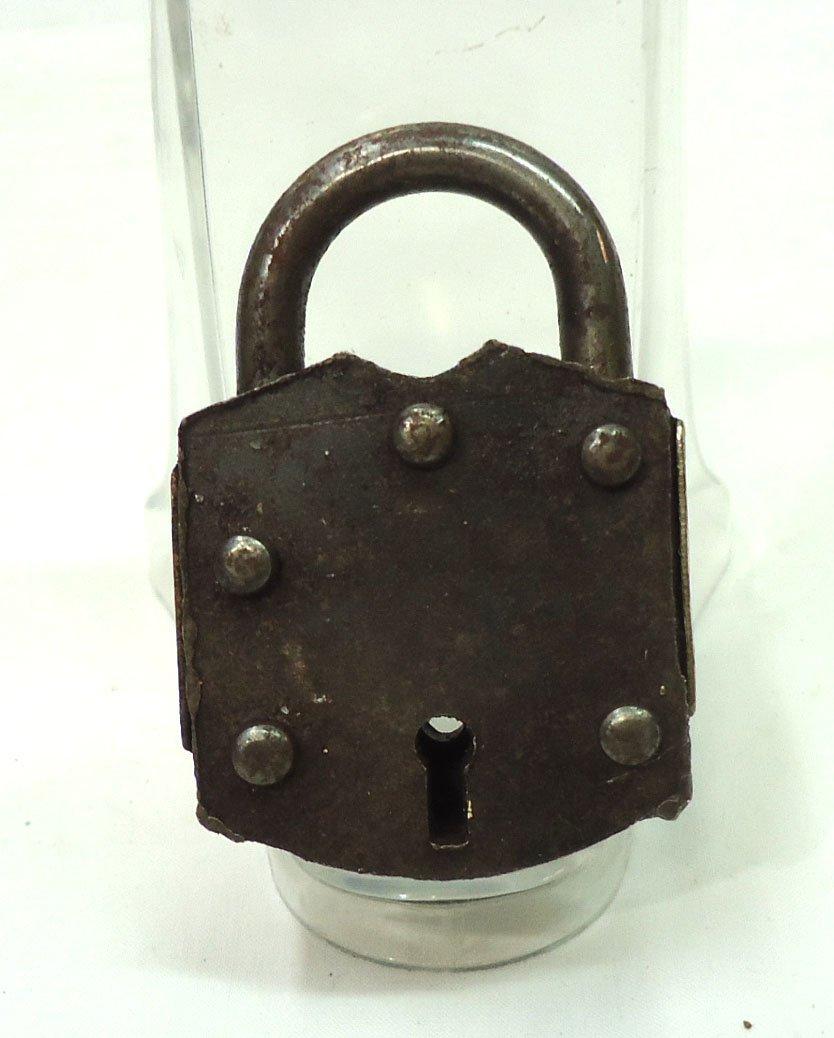 Brass & Steel Lock