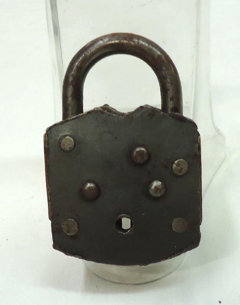 Brass & Steel Lock - 2