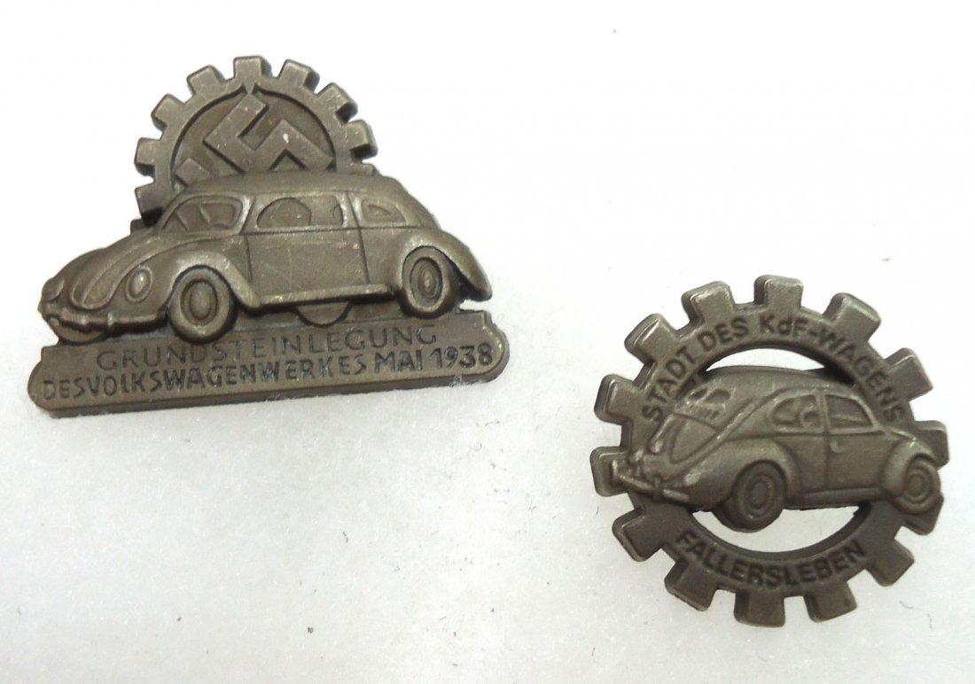 2 Modern Volkswagen Pins