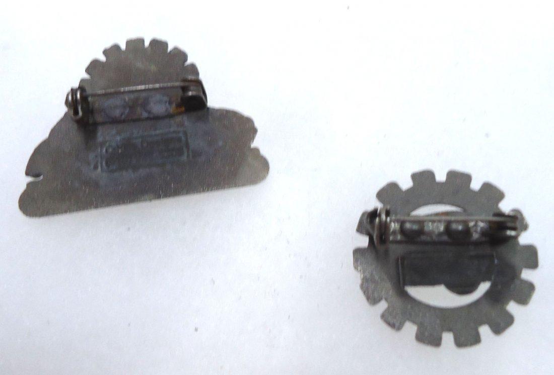 2 Modern Volkswagen Pins - 2