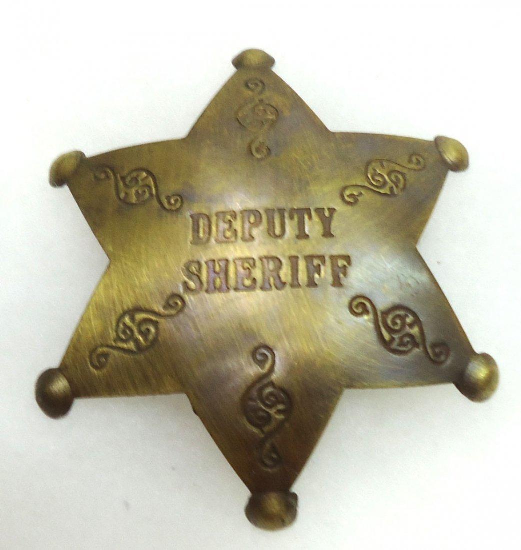 Modern Deputy Sheriff Badge
