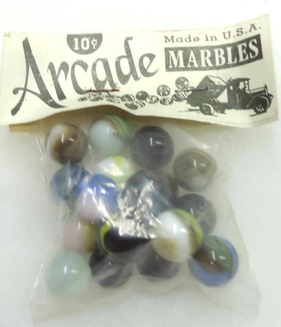 "Package of ""Arcade"" Marbles"