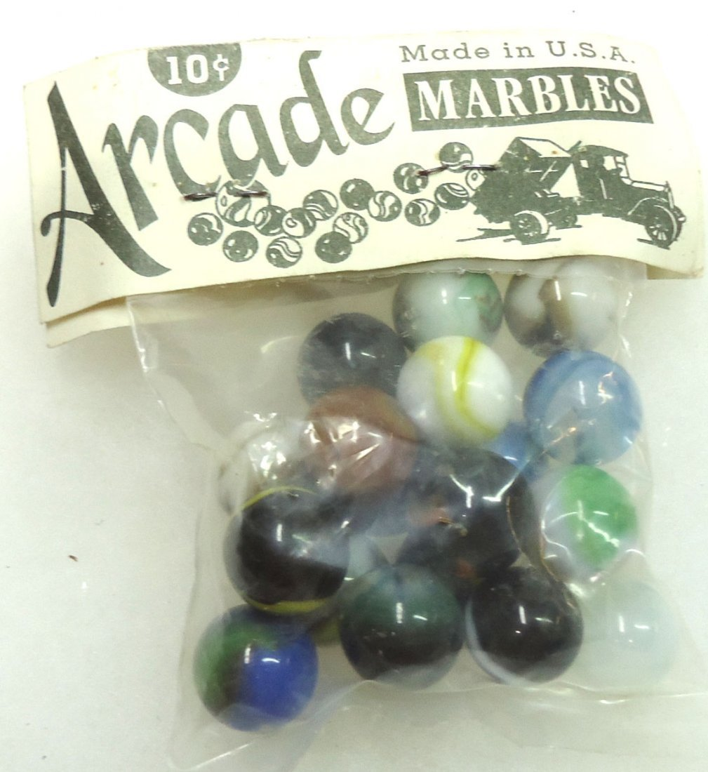 "Package of ""Arcade"" Marbles - 2"