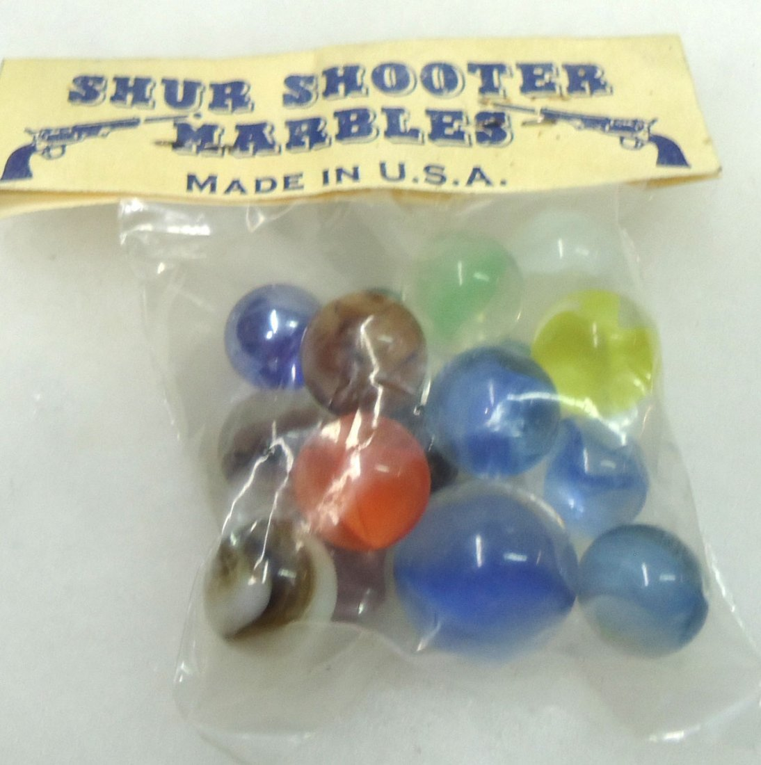 """Package of """"Shur Shooter"""" Marbles - 2"""