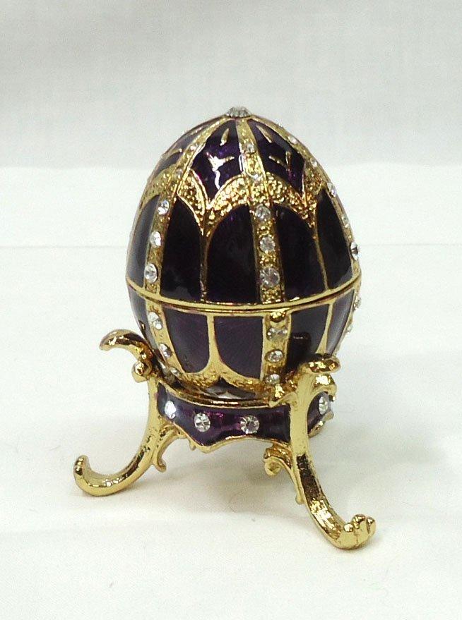 Enameled Egg Ring/Pill Box