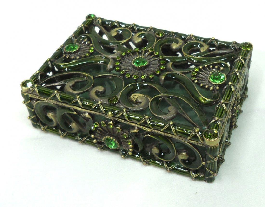 Jeweled Dresser Box