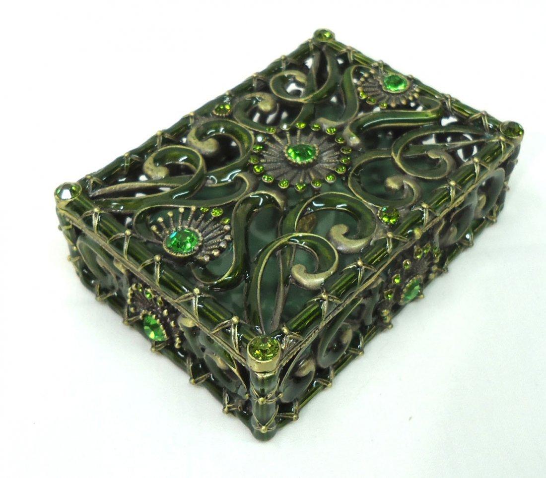 Jeweled Dresser Box - 2