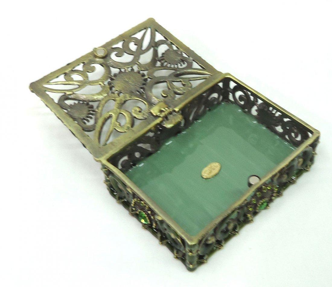 Jeweled Dresser Box - 3