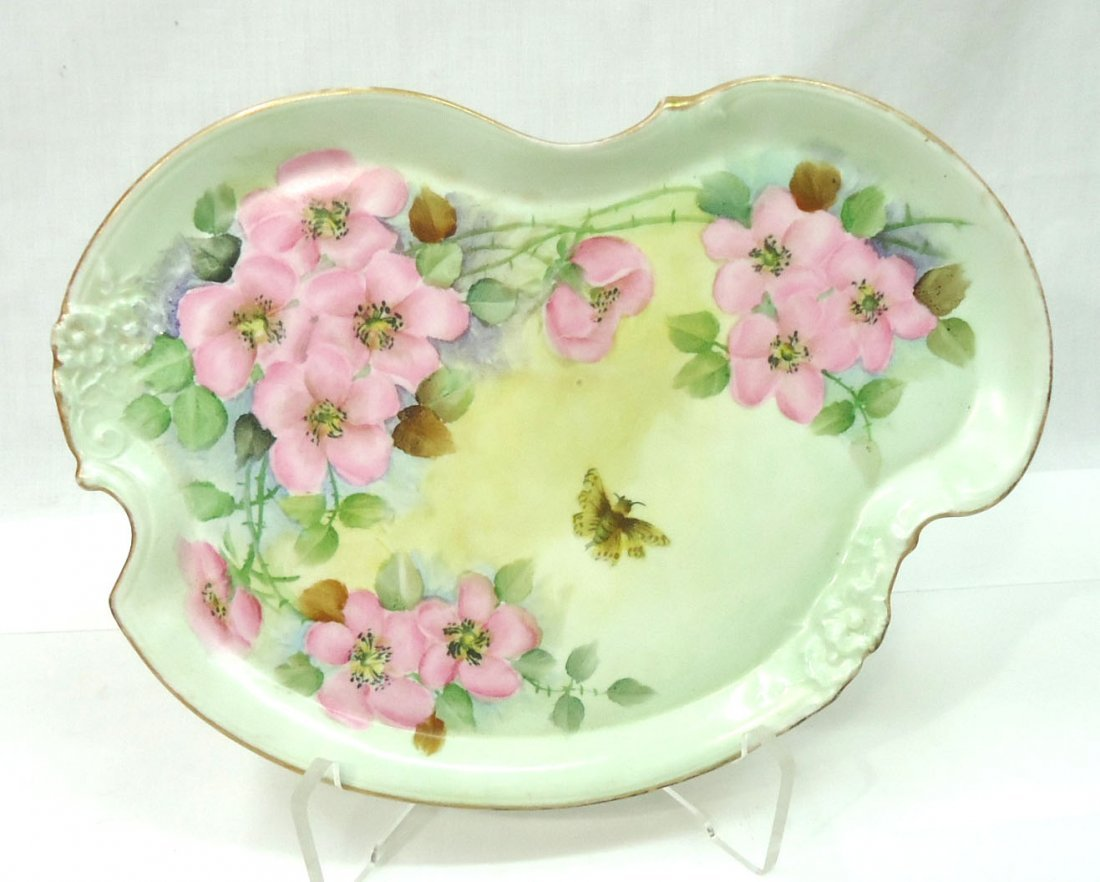 H.P. Limoges Tray