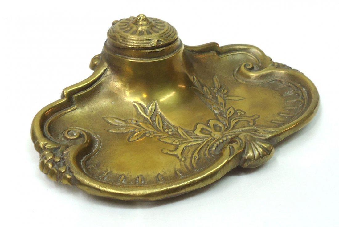 Brass Ink Well