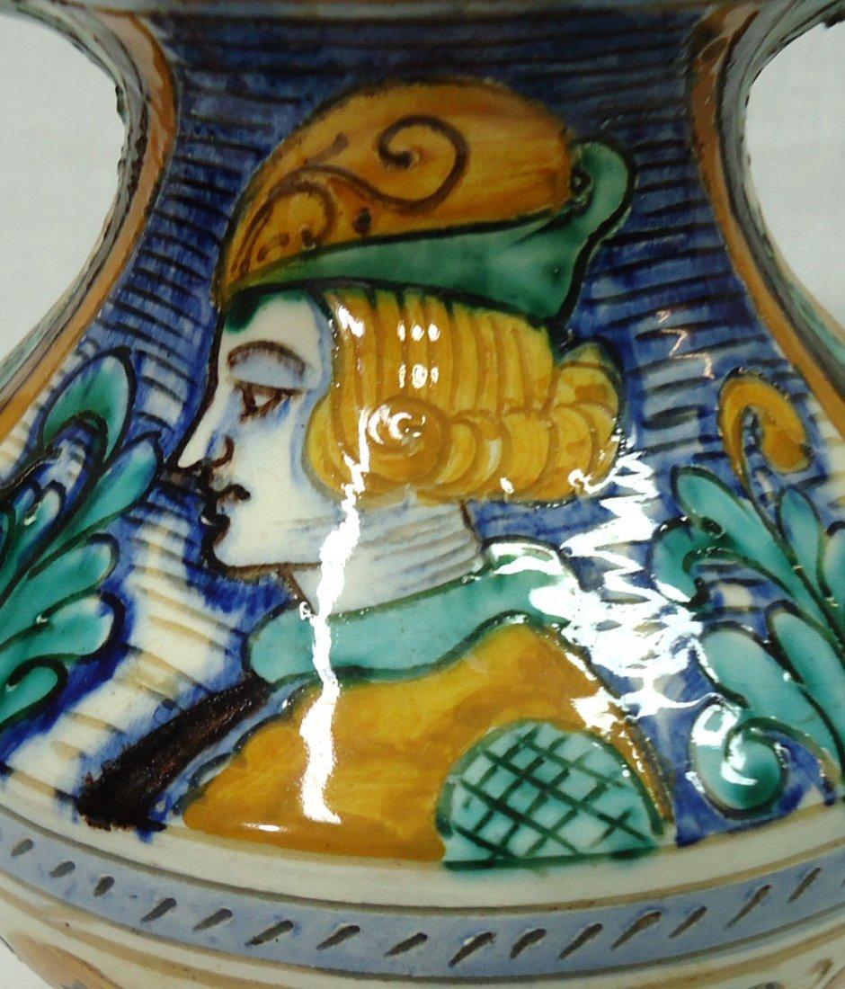 Pr. Italian Porcelain Vases - 2