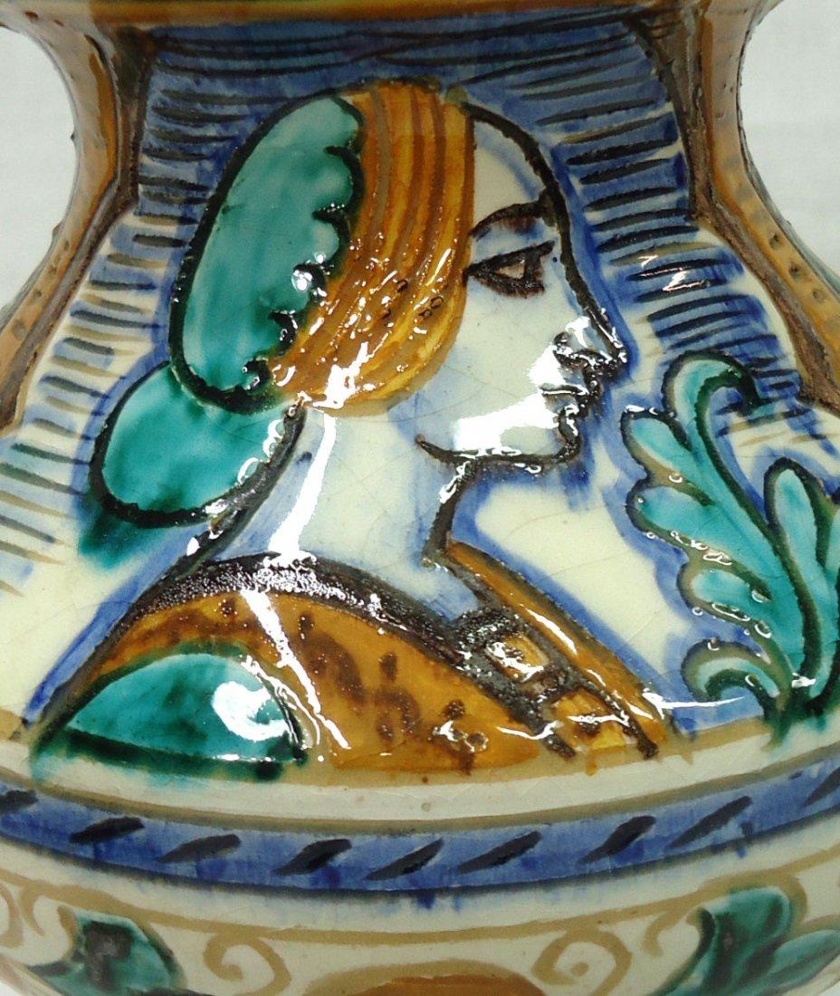 Pr. Italian Porcelain Vases - 4