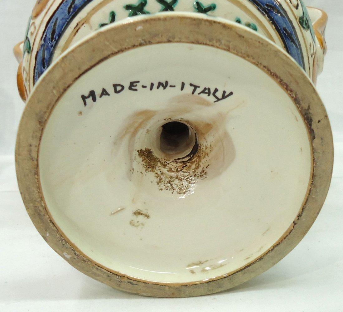 Pr. Italian Porcelain Vases - 6