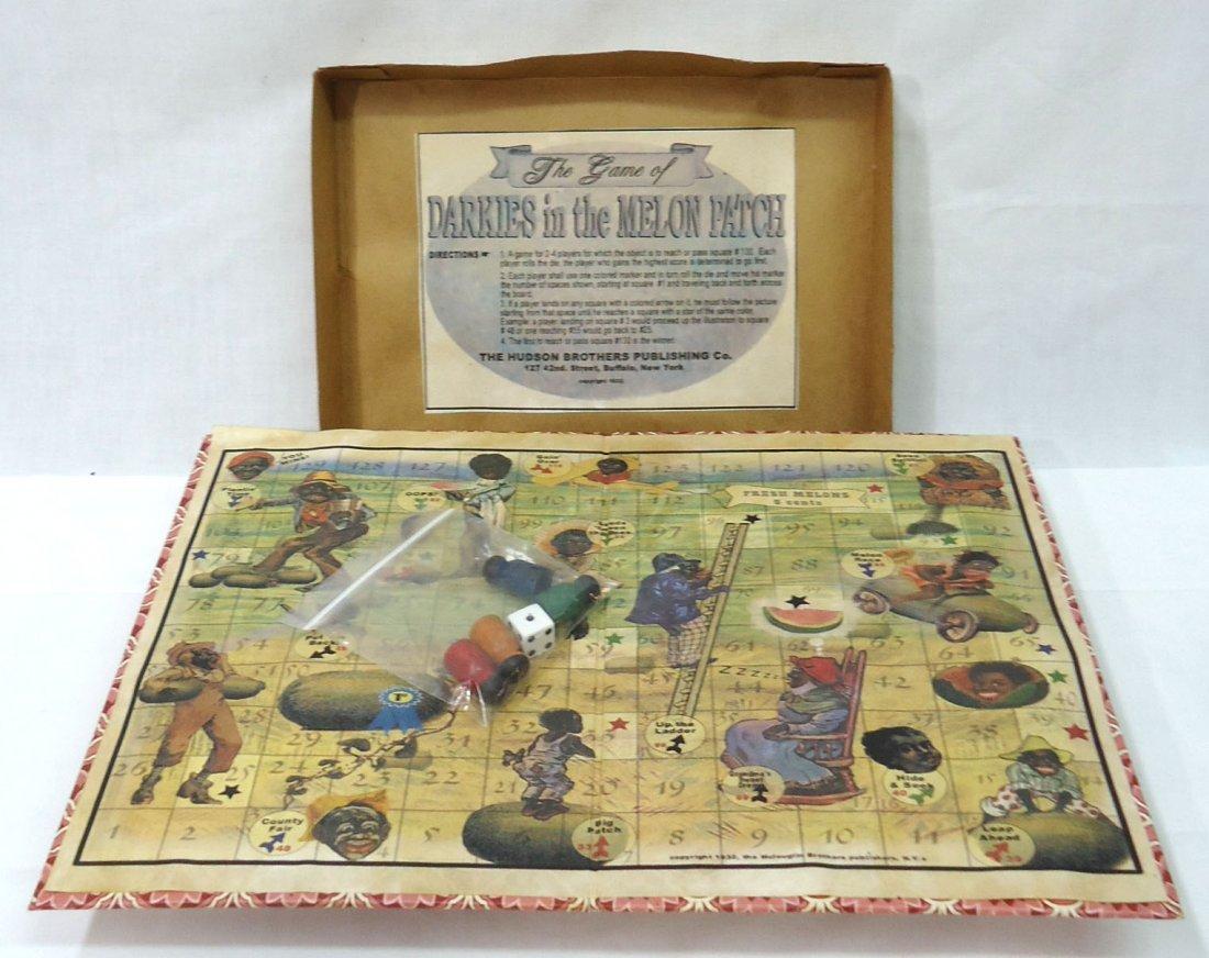 Modern Black Americana Board Game
