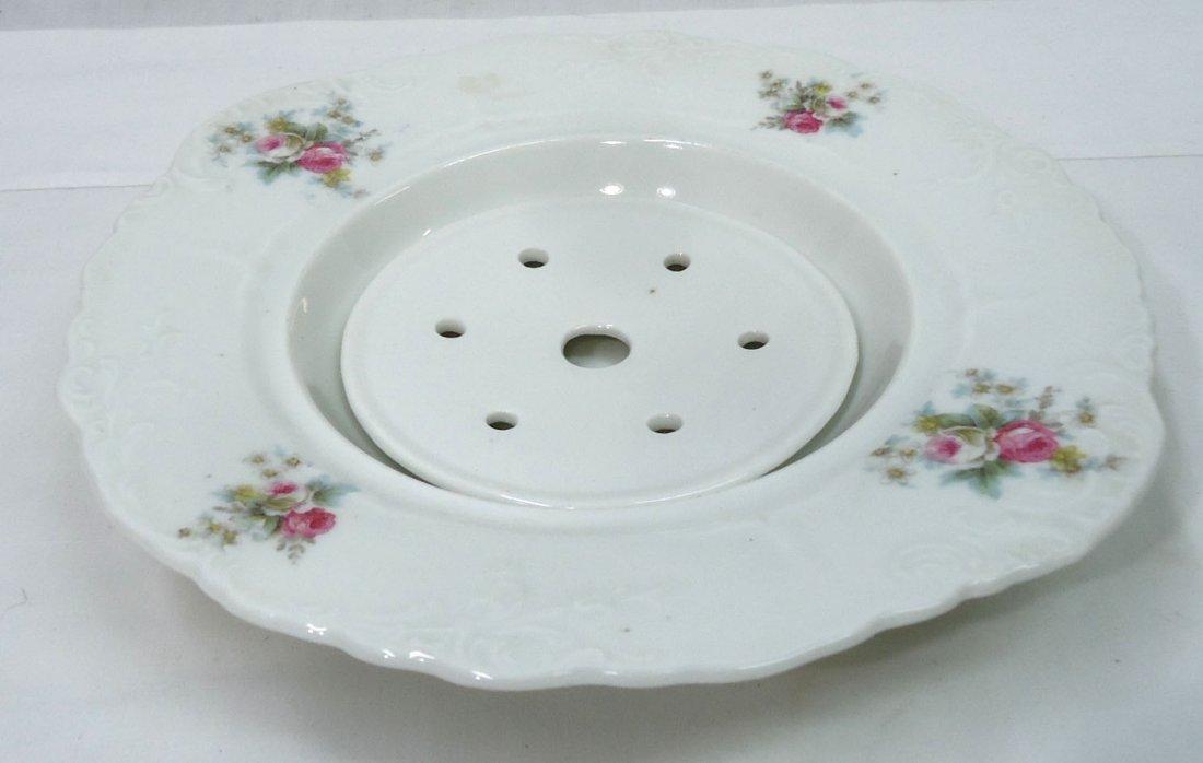 H.P. Austria Butter Dish w/ Drainer - 2