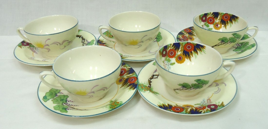 36 pc Wood's Ivory Ware - 6