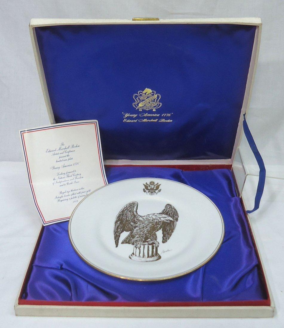 Boehm & Honor America Bicentennial Plate