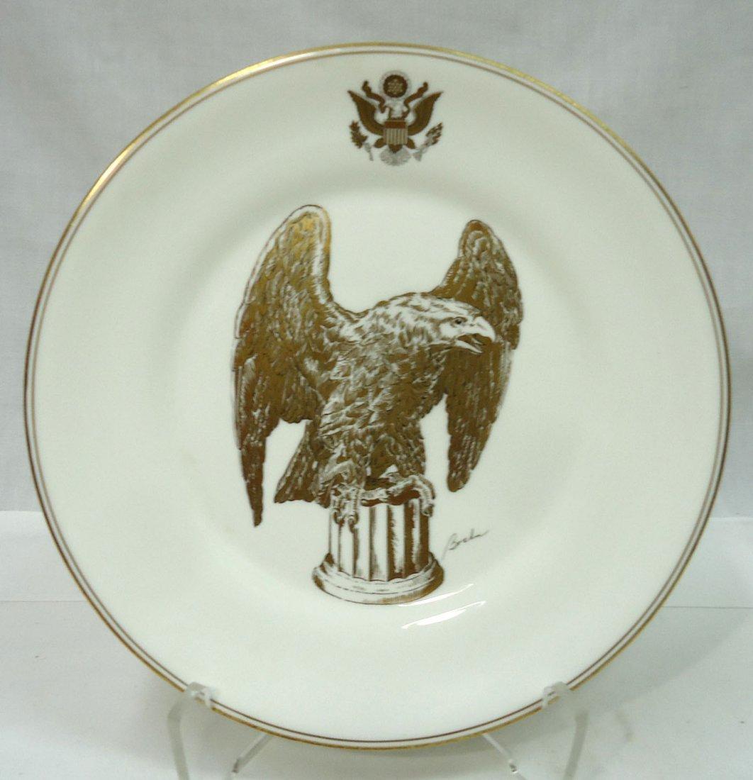 Boehm & Honor America Bicentennial Plate - 3