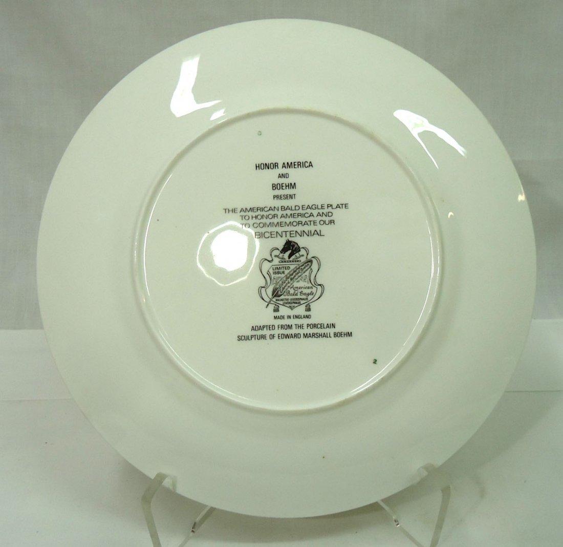 Boehm & Honor America Bicentennial Plate - 4