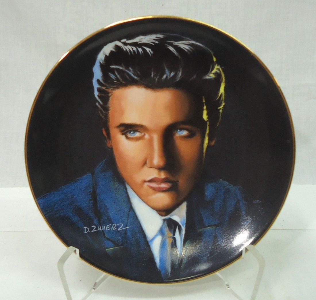 Elvis Presley Comm. Plate