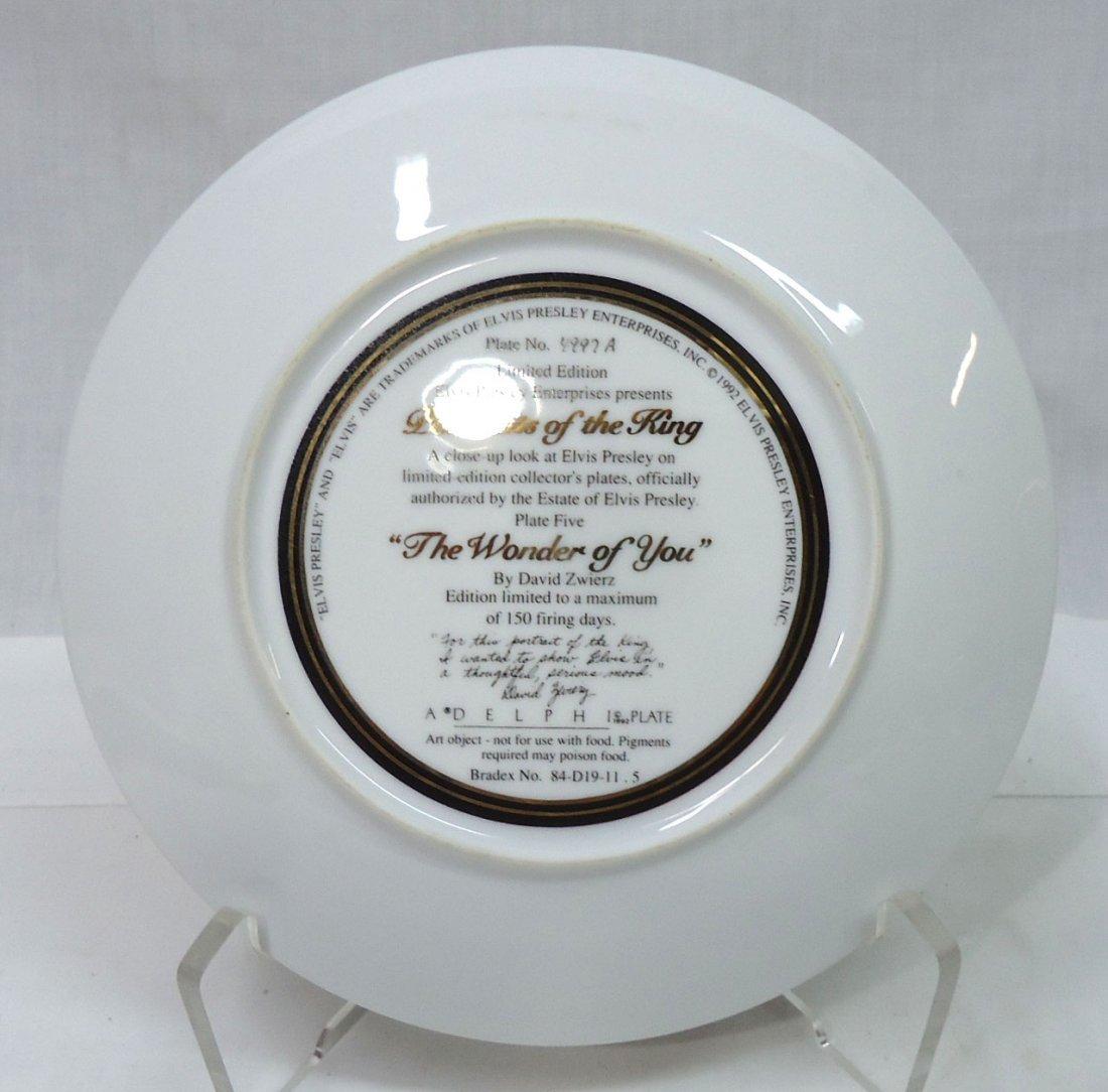 Elvis Presley Comm. Plate - 3
