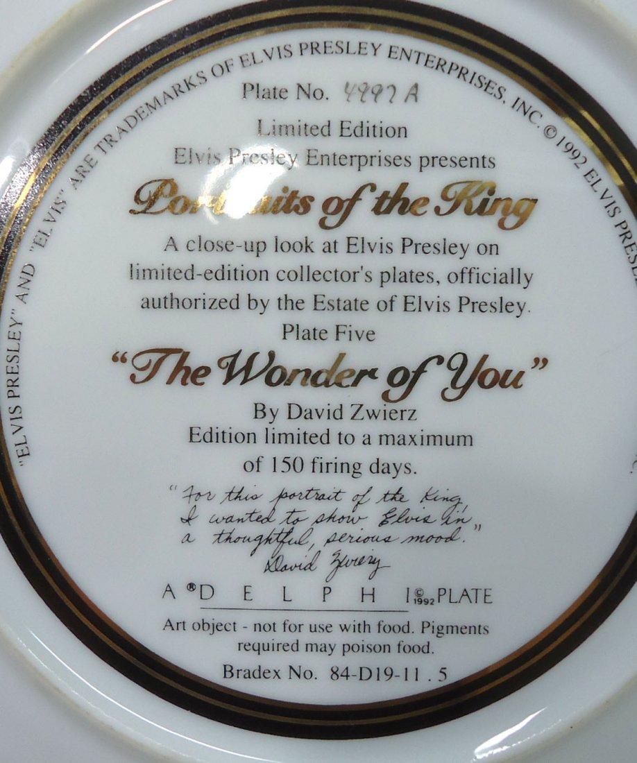 Elvis Presley Comm. Plate - 4