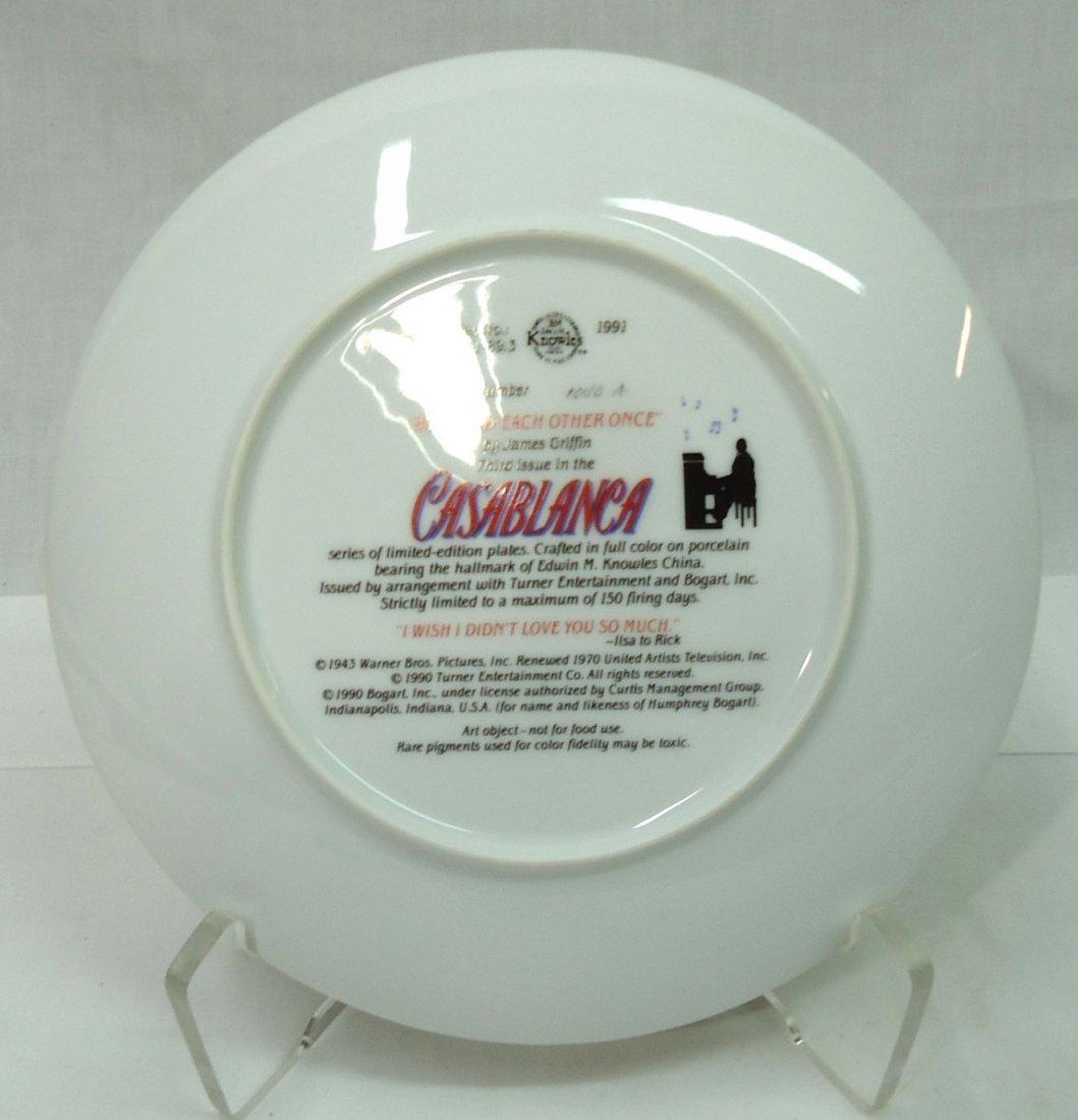 """Casablanca"" Comm. Plate - 3"