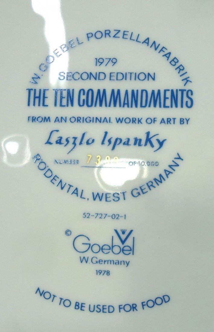 Goebel 12 Tribes of Israel Comm. Plate - 5